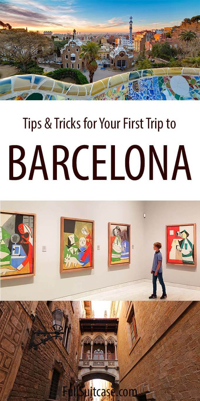 Tips for traveling to Barcelona