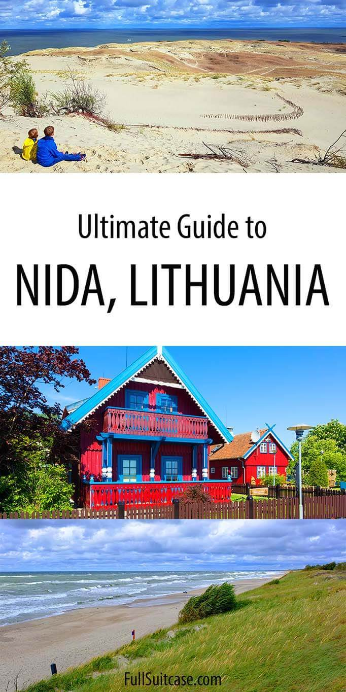 Travel guide to Nida in Lithuania