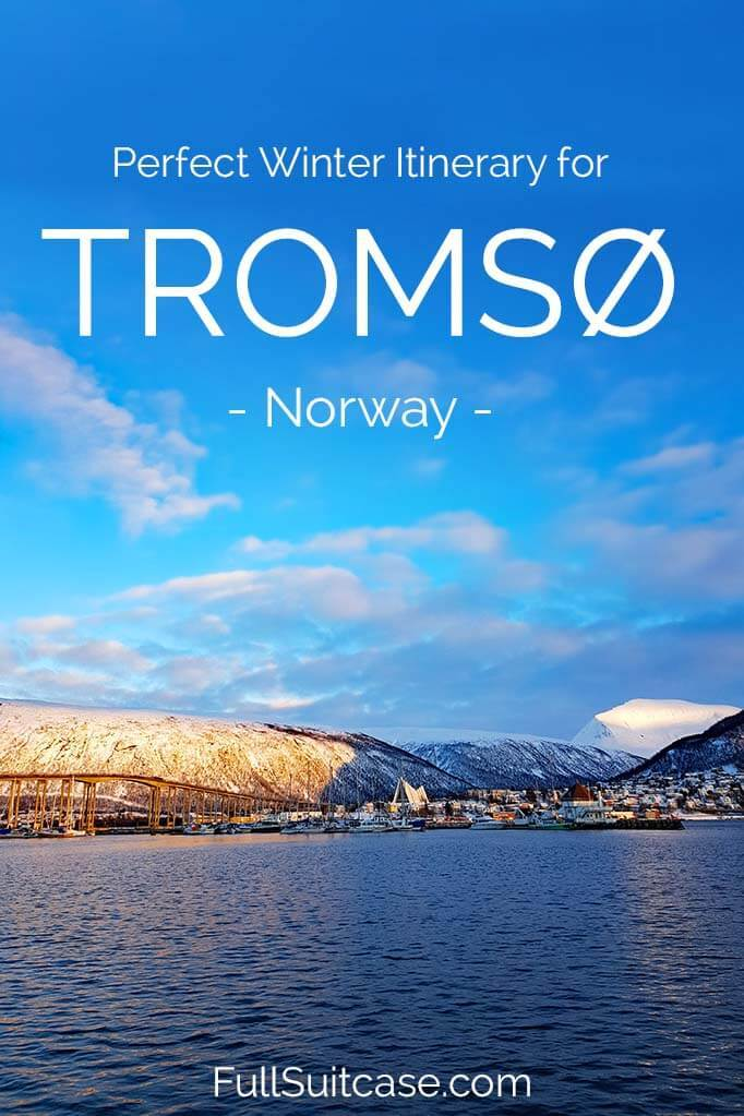 Tromso itinerary for 3 days in winter