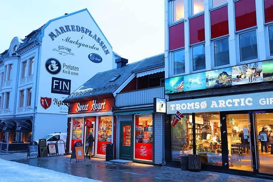 Tromso shops