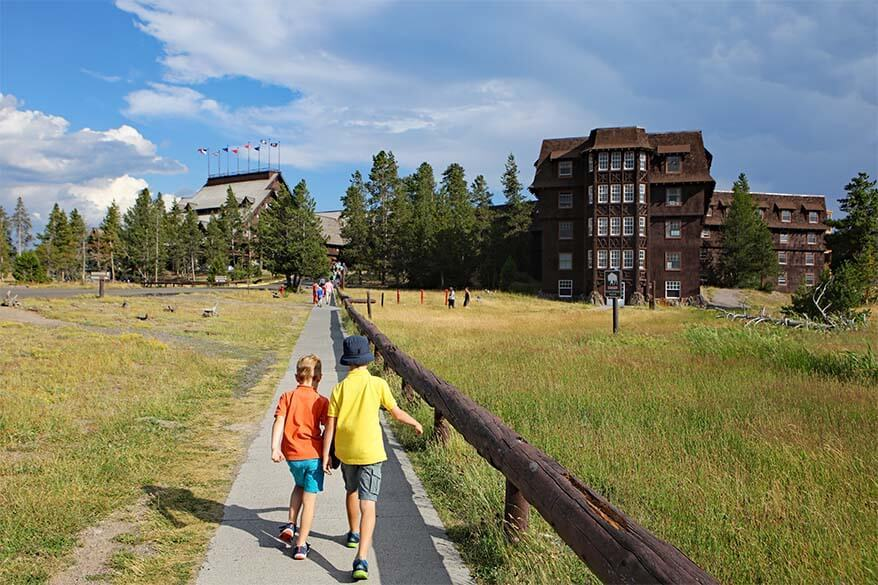 Visiting Yellowstone in summer