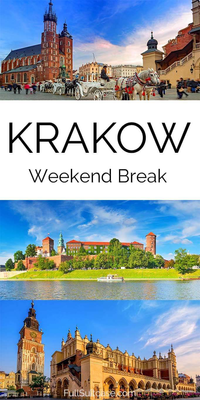 Krakow weekend break - things to do, itinerary, practical tips