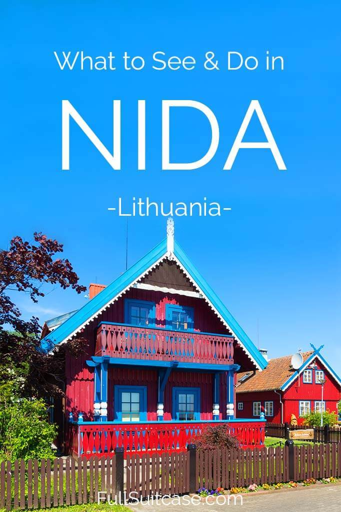 What to do in Nida Lithuania