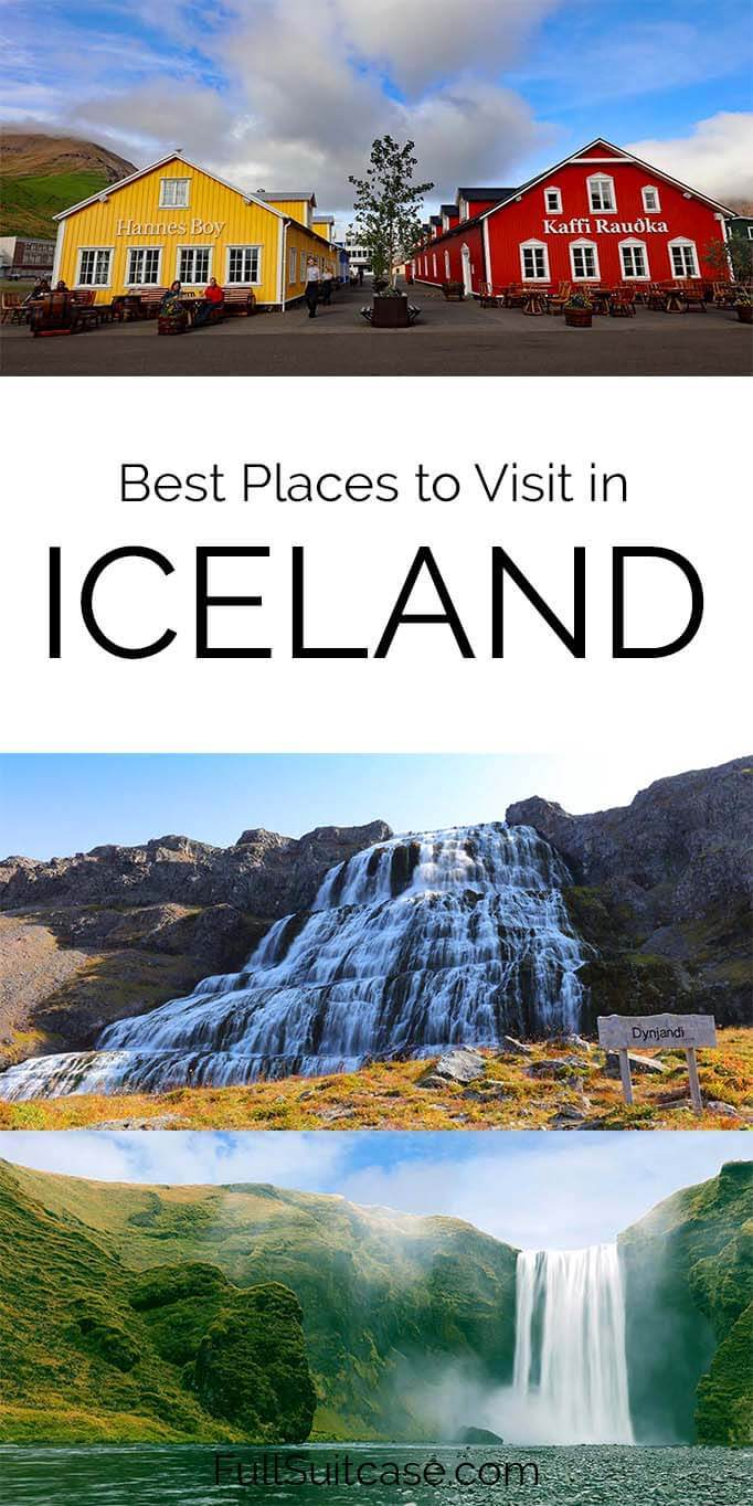 What to see in Iceland - best places and regions
