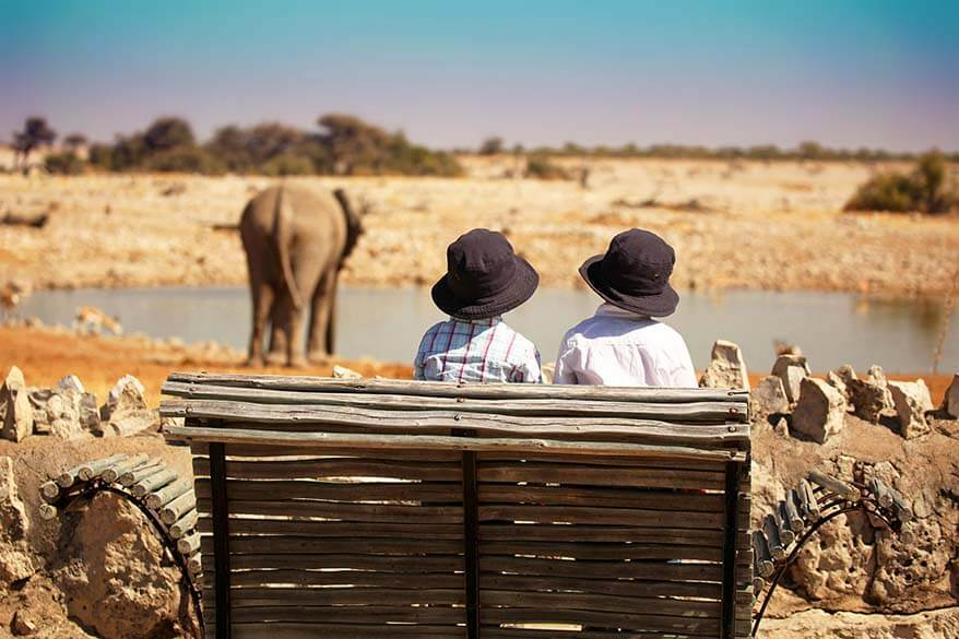 Where to stay in Etosha National Park in Namibia