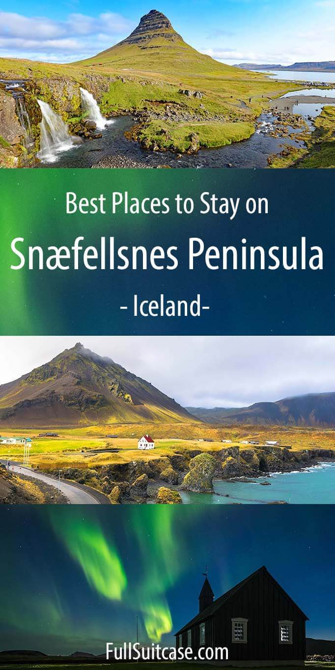 Where to stay in Snaefellsnes - best towns and hotels on Snaefellsnes Peninsula in Iceland
