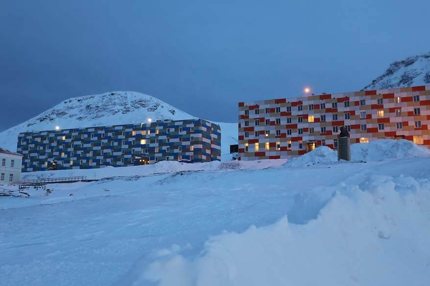 Barentsburg - one of the biggest settlements in Svalbard