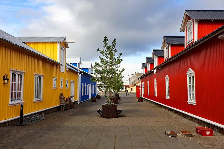 Colorful houses in Siglufjordur