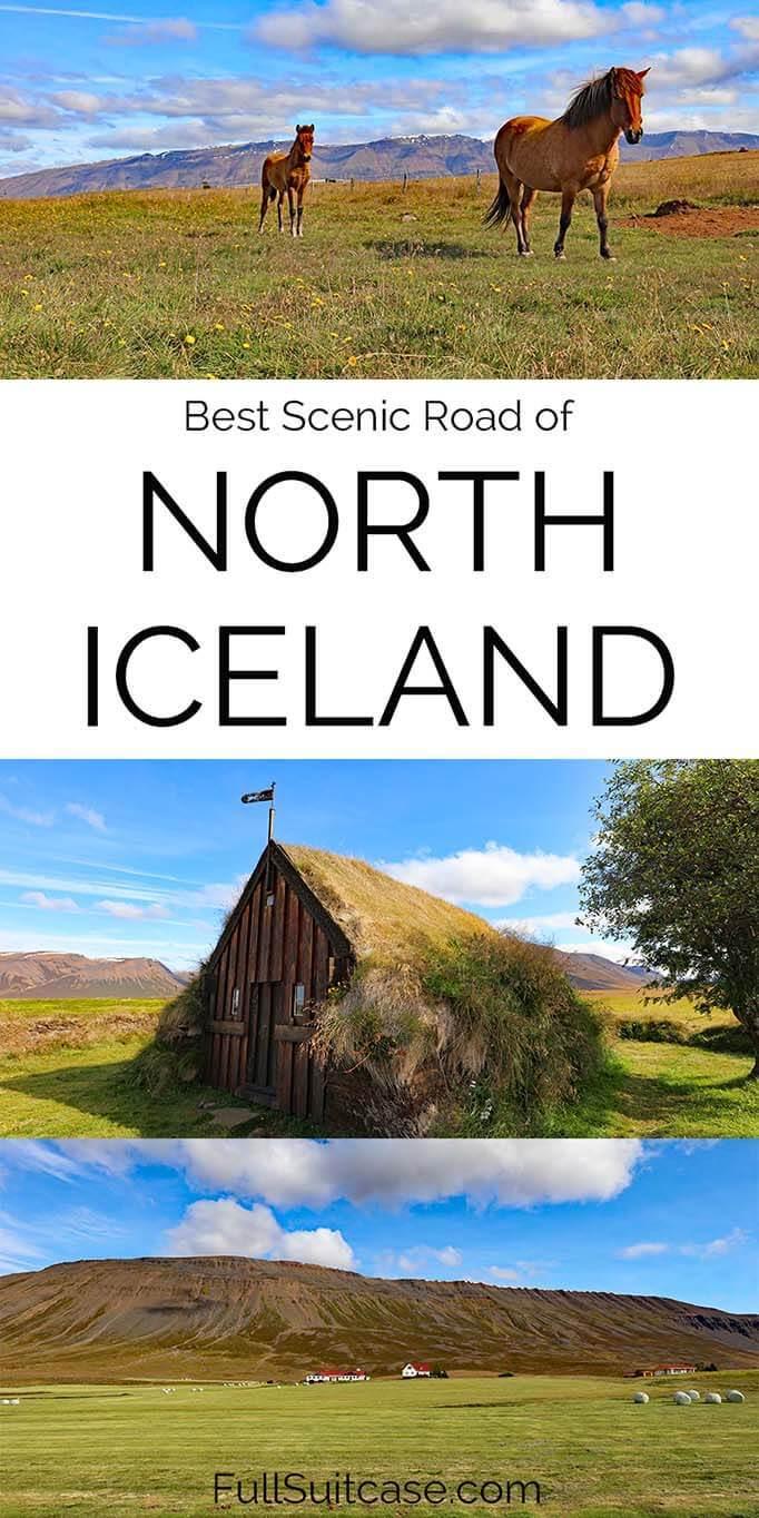 From Akureyri to Blonduos via Road 76 - best stops on Trollaskagi Peninsula