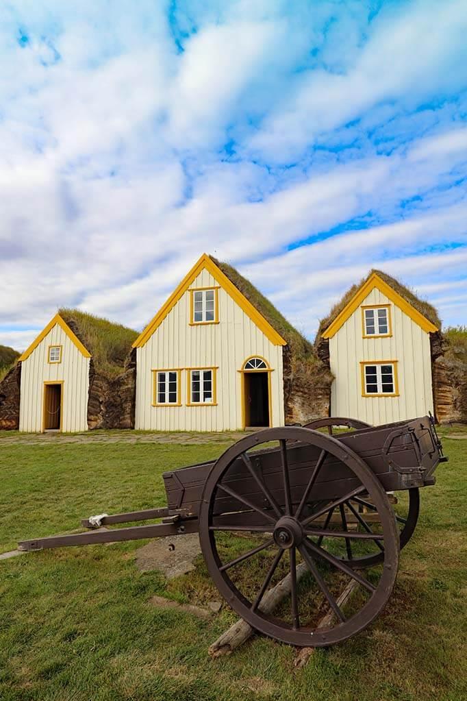 Glaumbaer Farm & Museum in Iceland