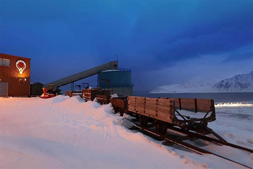 Gruve 3 Coal Mine in Svalbard