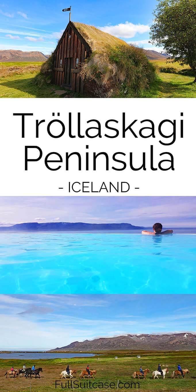 Guide to Trollaskagi Peninsula in Iceland - Grafarkirkja, Hofsos, Road 76 and more