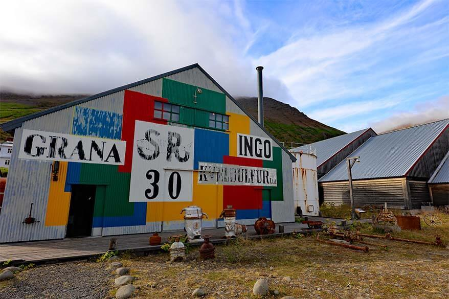 Herring Era Museum in Siglufjordur, North Iceland