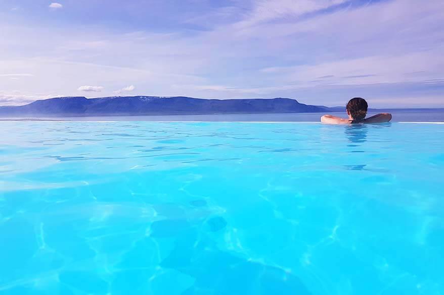 Hofsos Pool in Iceland