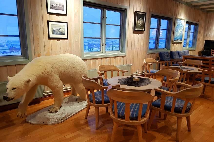 Inside of the Svalbard Church