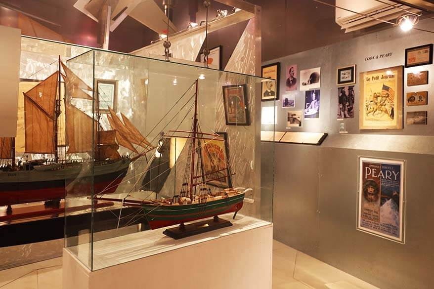 North Pole Expedition Museum in Svalbard