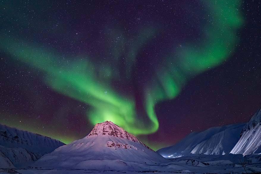 Northern Lights Svalbard
