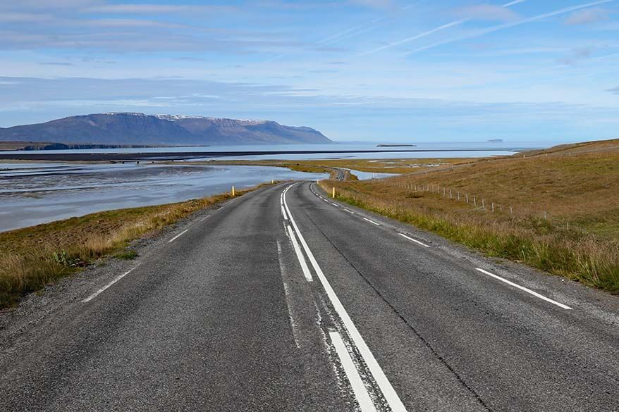 Road 76 in Iceland