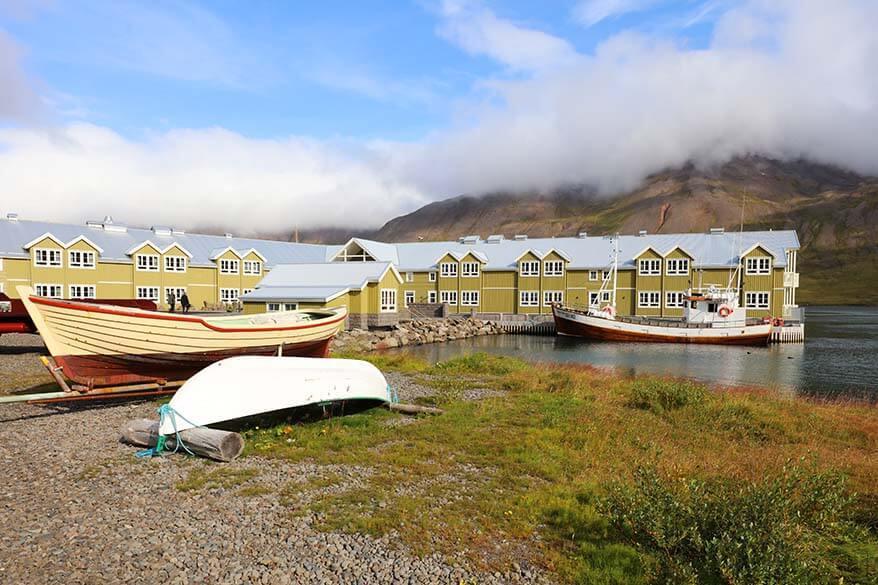 Siglo Hotel in Siglufjordur Iceland