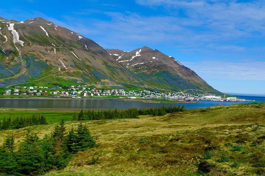 Siglufjordur in summer
