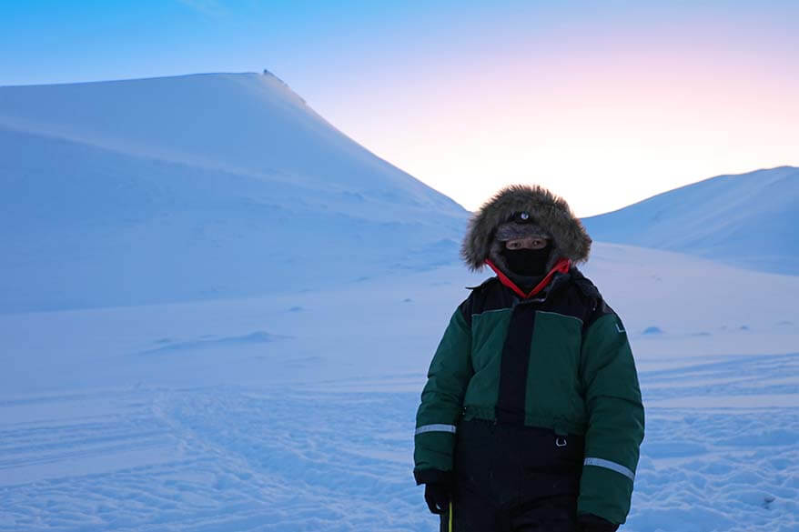 Svalbard winter clothing - ready for Arctic outdoor adventures