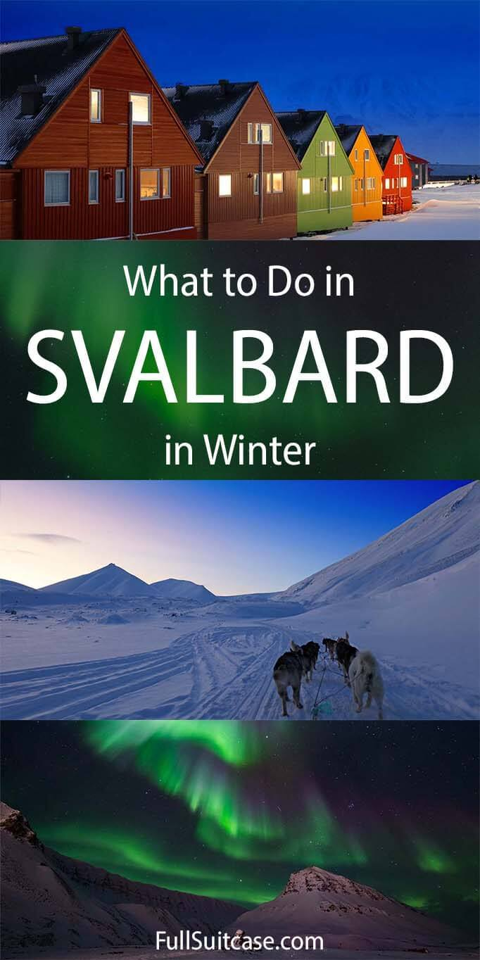 Svalbard winter trip