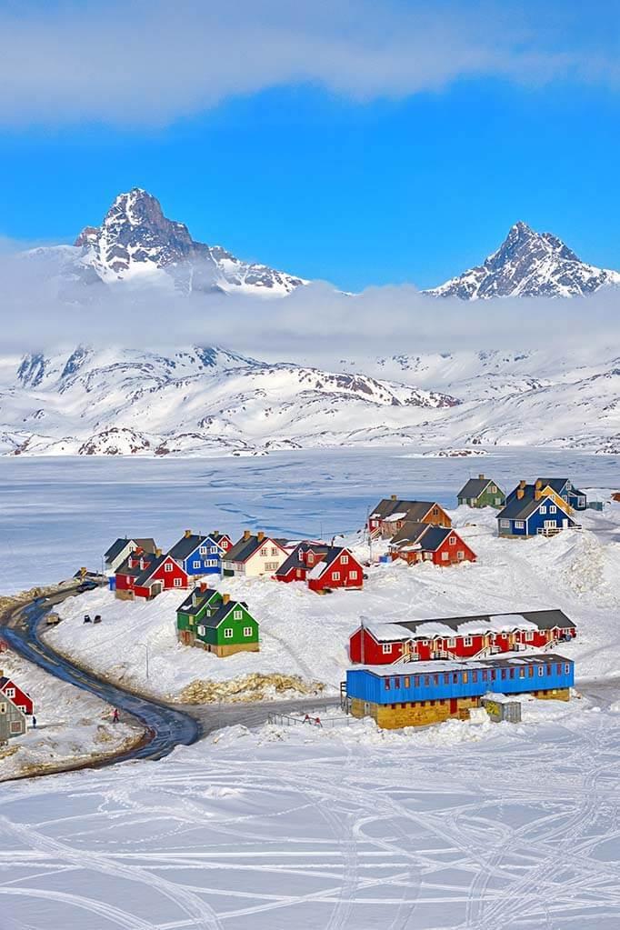 Tasiilaq in Eastern Greenland
