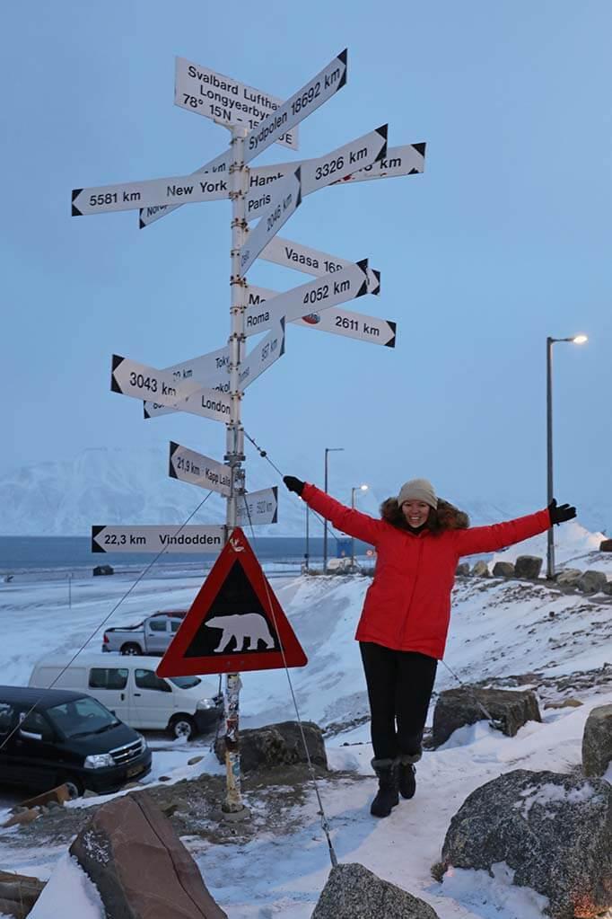 Visiting Svalbard in winter