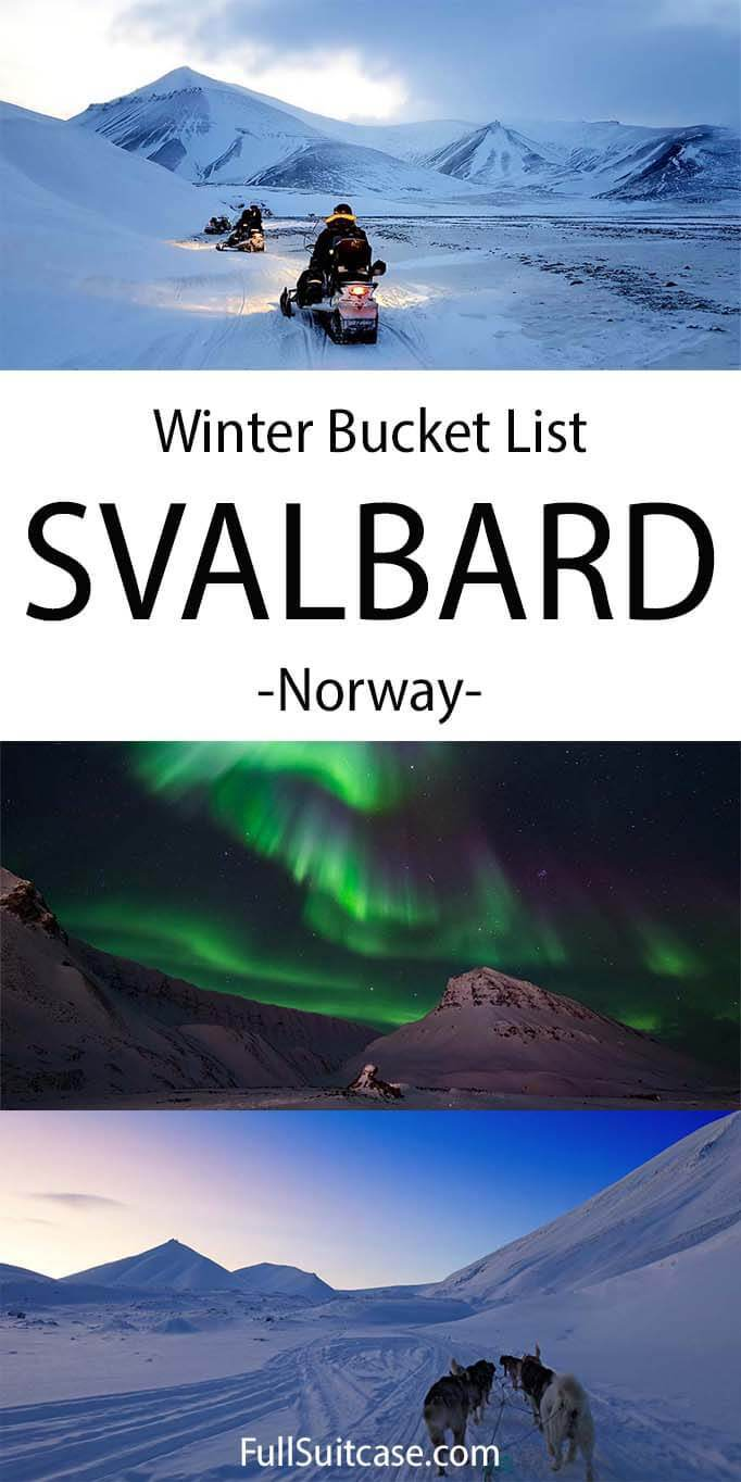 What to expect and what to do in Svalbard in winter