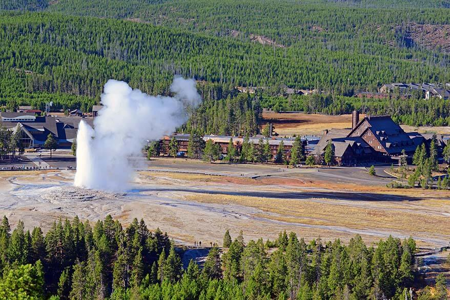 Where to stay in Yellowstone - accommodation guide for inside and near the park