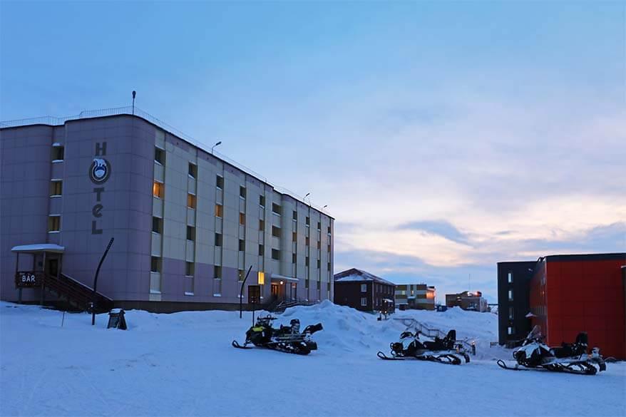 Barentsburg Hotel in Svalbard