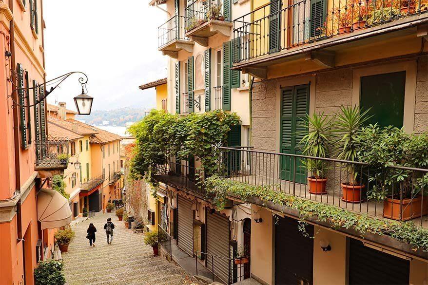 Bellagio in Italy in November