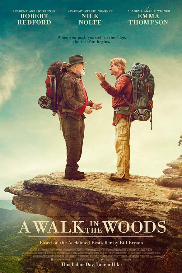 Best travel movies - A Walk in the Woods