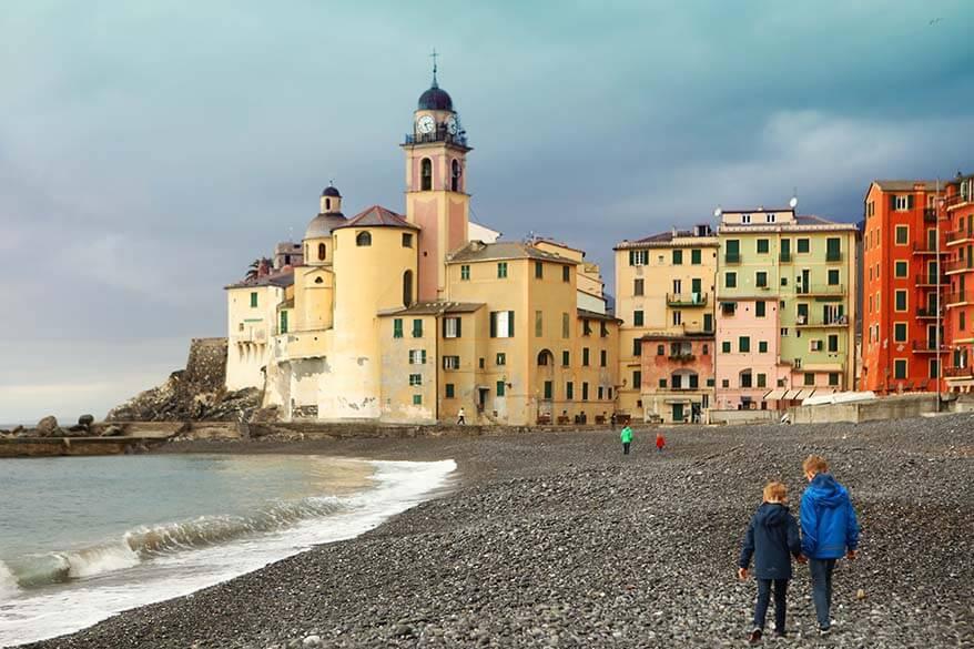 Camogli - Italian Riviera in November