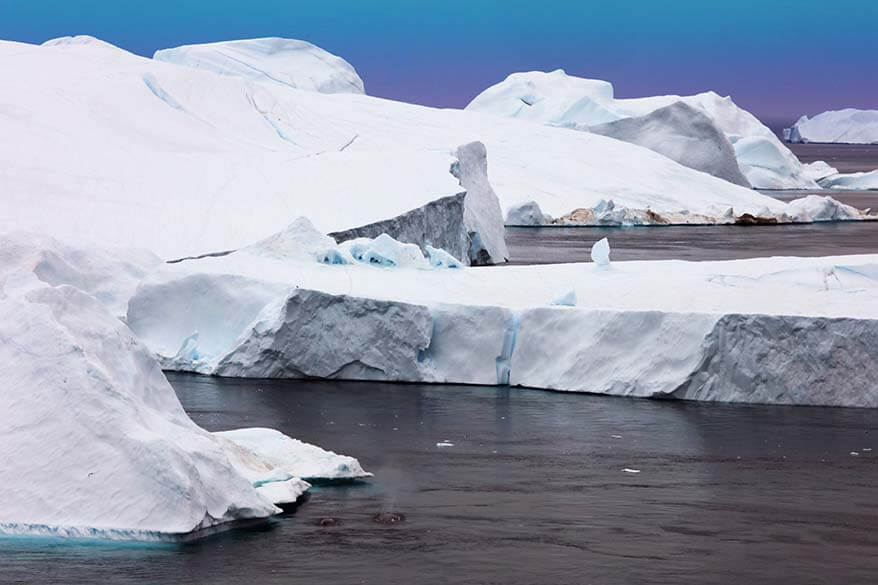 Complete guide to visiting Kangia - Ilulissat Icefjord in Greenland