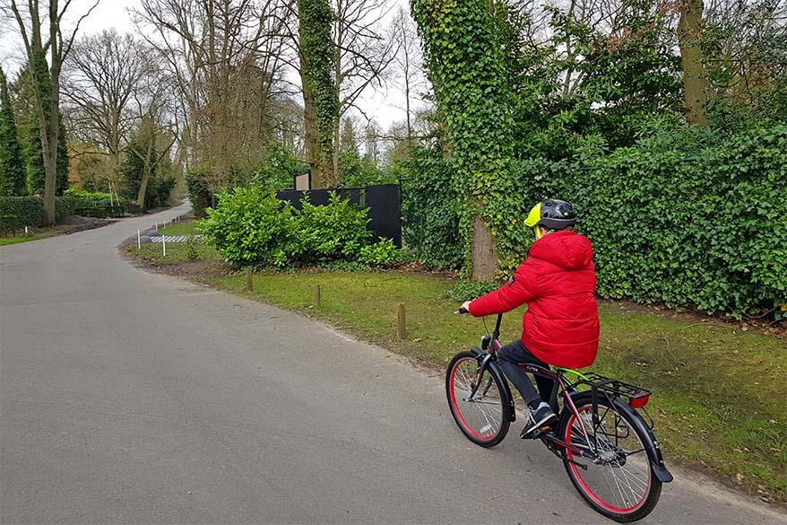 Coronavirus quarantine day 5 - bicycling