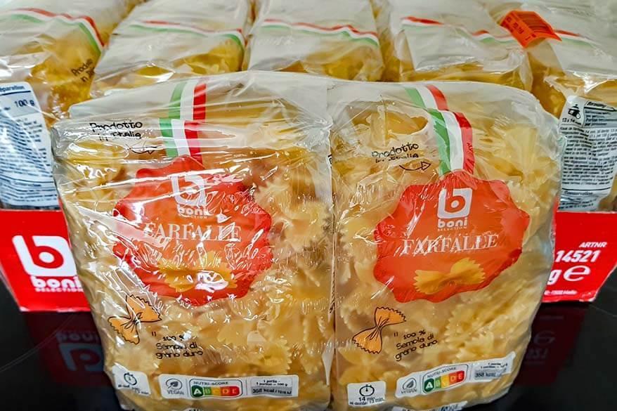 Hoarding food in times of coronavirus in Belgium