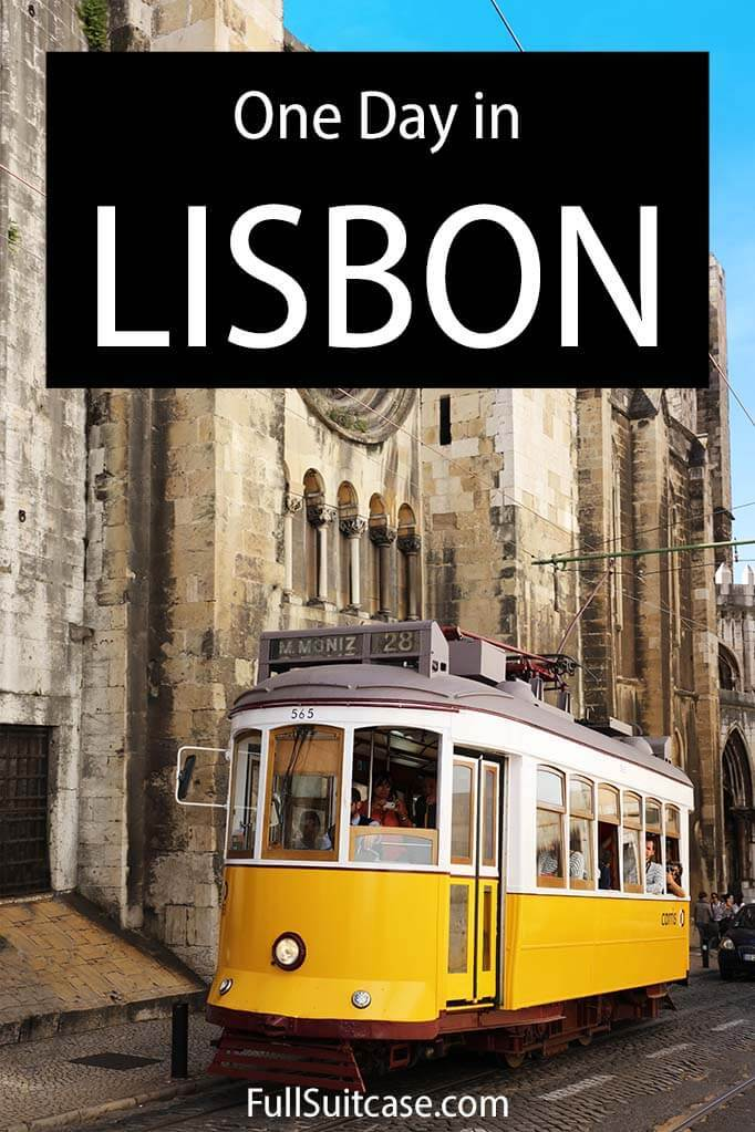 Lisbon in a day - best things to do and map
