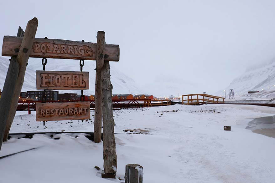 Mary Ann's Polarrigg hotel in Longyearbyen