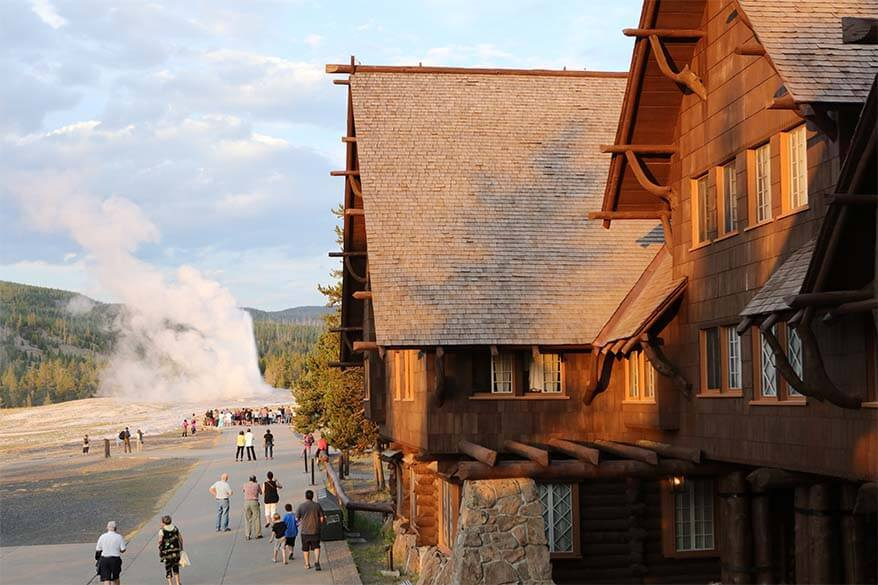 Old Faithful Inn is always fully booked in July and August