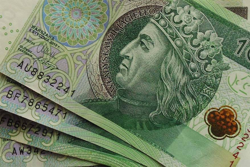 Polish zloty - exchanging money and tipping in Poland