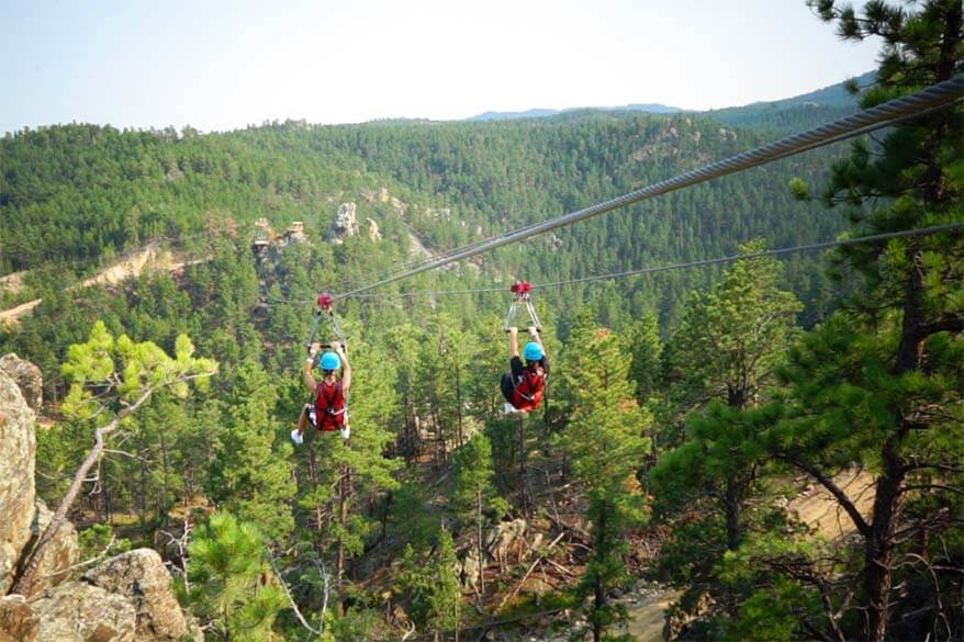Rushmore Tramway Adventures - things to do at Mount Rushmore with kids