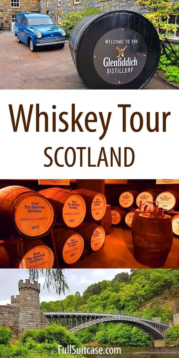 Scotland Whiskey Tour from Edinburgh