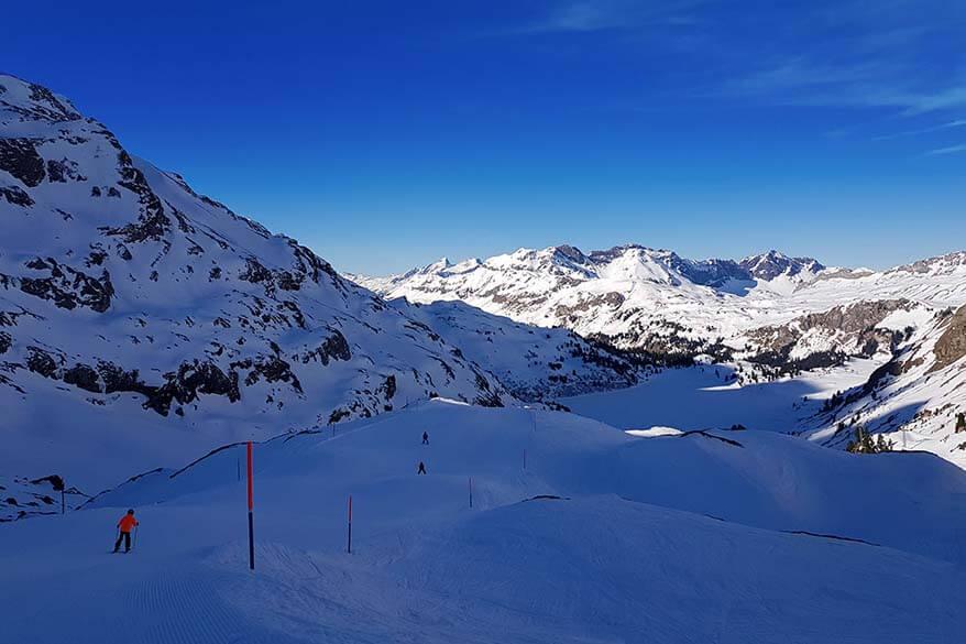 Skiing in Engelberg Switzerland