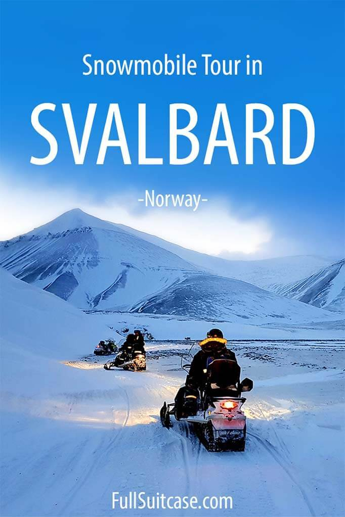 Svalbard snowmobile tour review and tips for your first time on a snowmobile