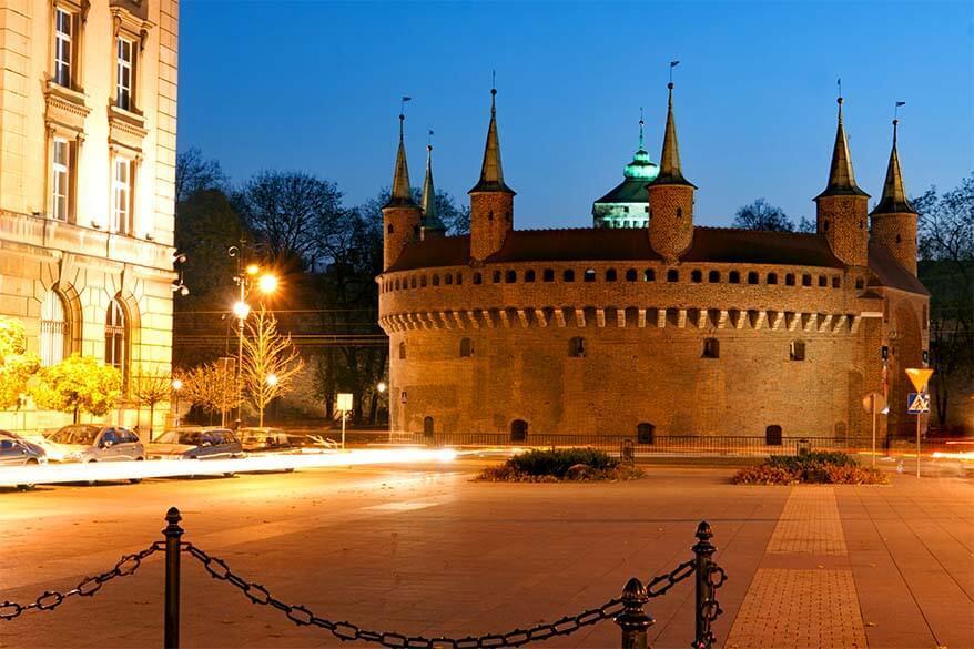 The Barbican in Krakow