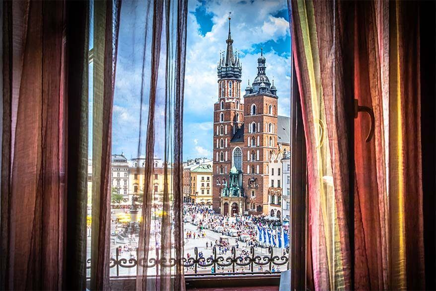 Tips for visiting Krakow - stay in the city center