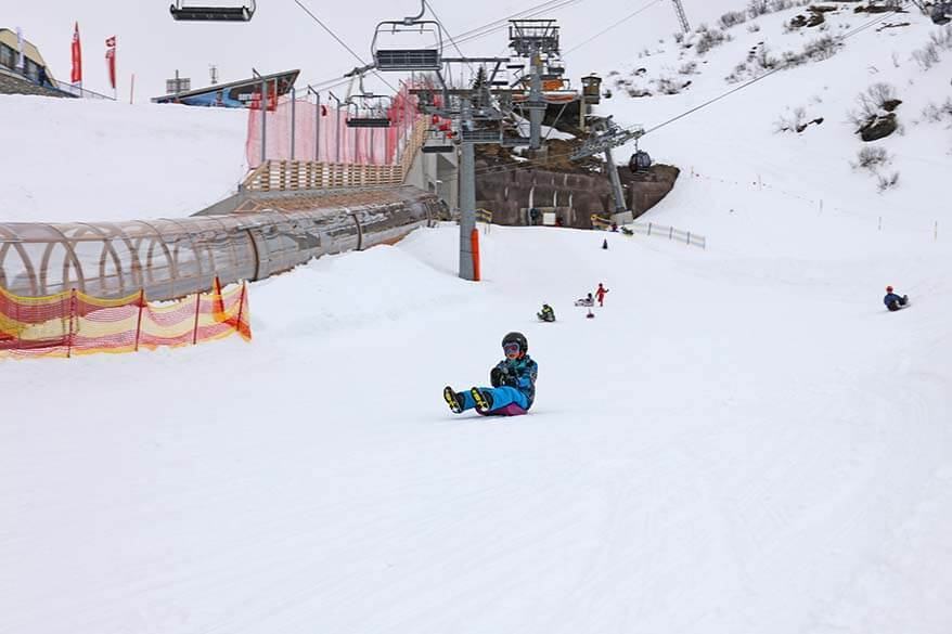 Trubsee Snow Park - sledding and beginner's ski slopes near hotel