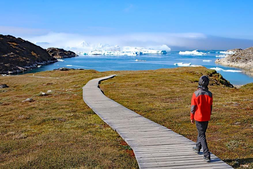 World Heritage Trail to Sermermiut - must do hike in Ilulissat Greenland