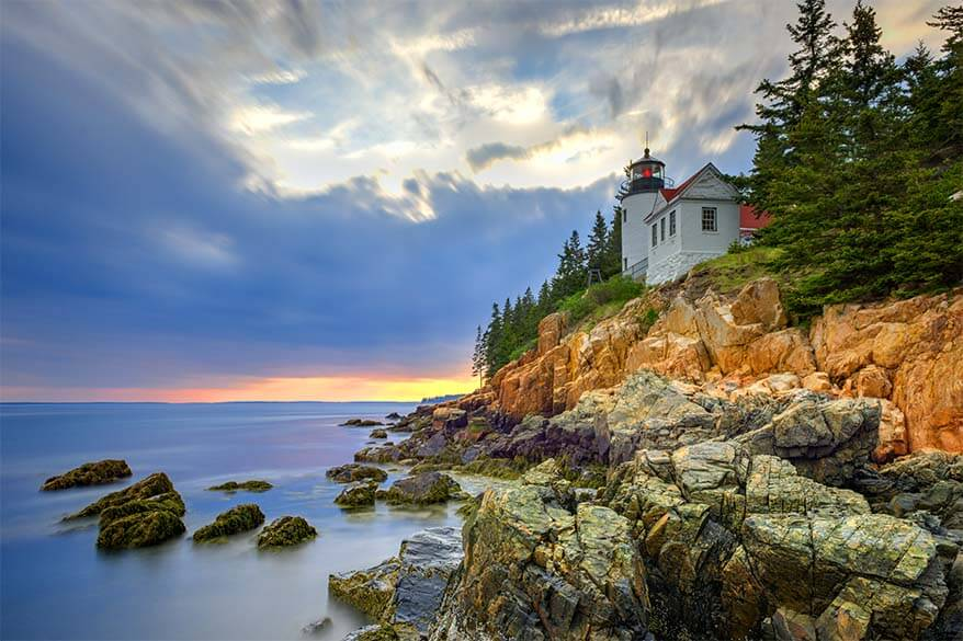 Acadia National Park - one of the best American National Parks in September